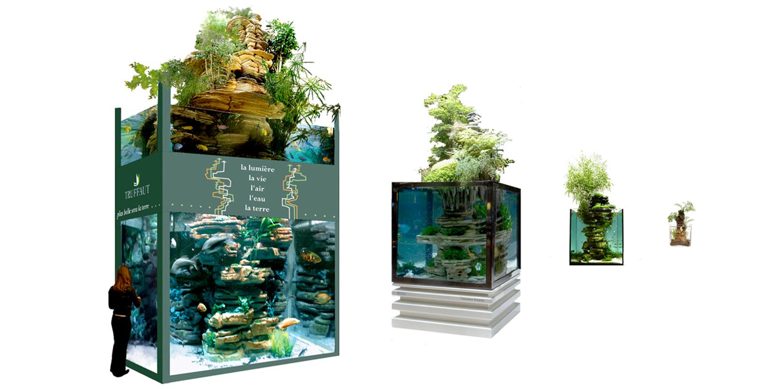 Aquarium de prestige